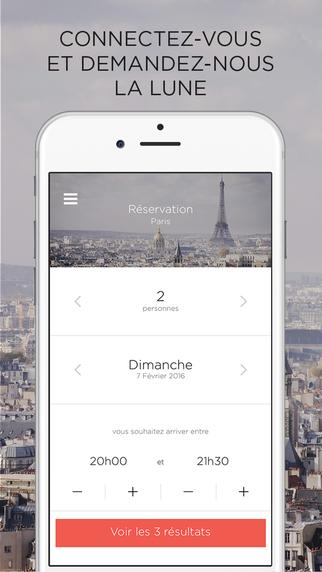 Réservez les meilleures tables parisiennes avec Sneat