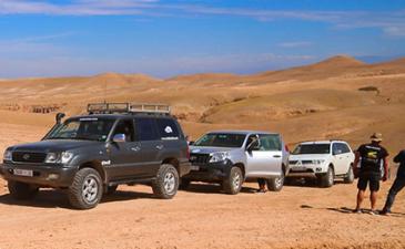 Raid 4×4 au Maroc